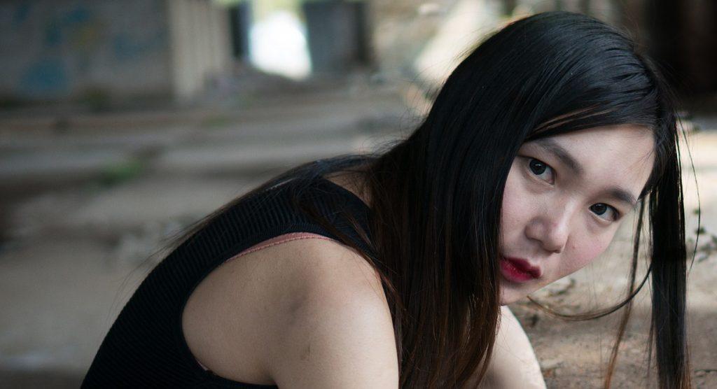 a human trafficking victim